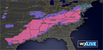 Round Two: Next Wintry Mess Strikes South and Mid Atlantic